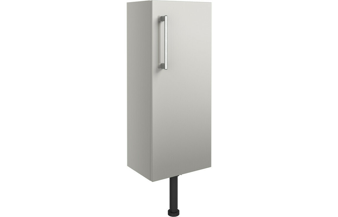 Alba 300mm Slim Base Unit - Light Grey Gloss