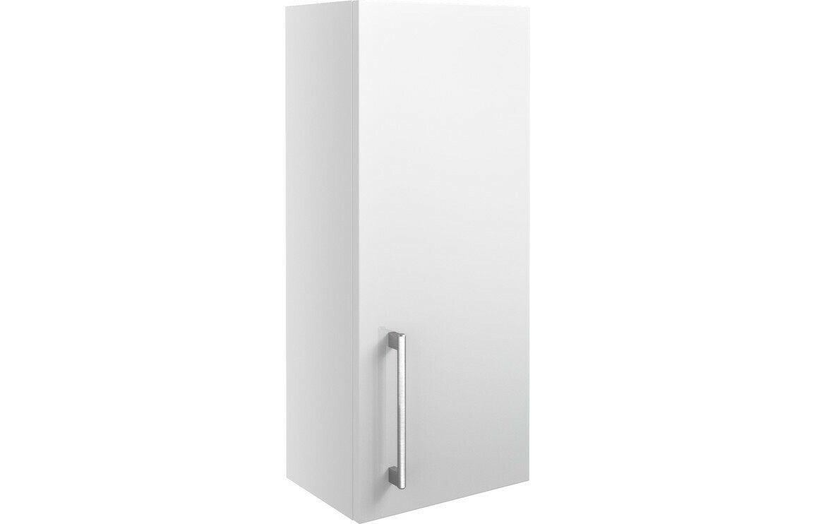 Alba 300mm Wall Unit - White Gloss
