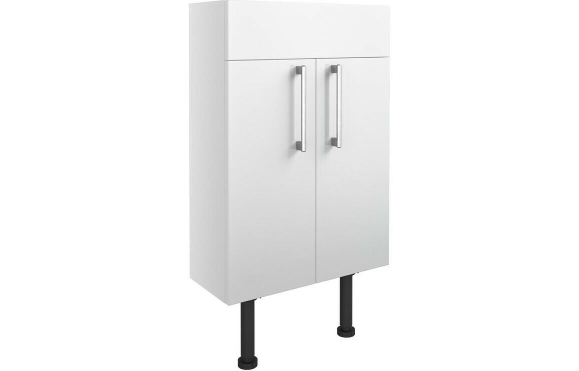 Alba 500mm Slim Vanity Unit - White Gloss