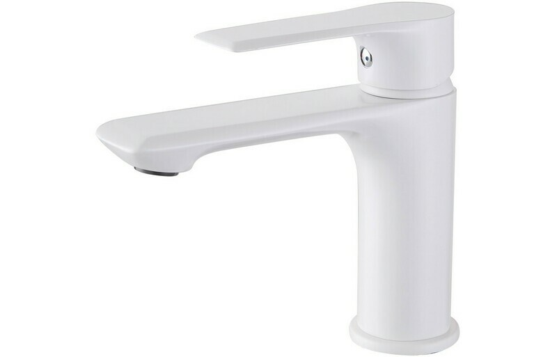 AQADO BASIN MIXER - WHITE