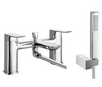 Finissimo Bath Shower Mixer - Shower Kit