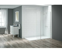 Merlyn Wetroom 300mm Swivel Panel