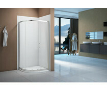 Merlyn Vivid Boost 1200x900mm 1 Door Offset Quadrant