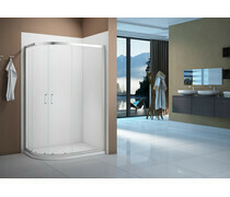 Merlyn Vivid Boost 1200x900mm 2 Door Offset Quadrant