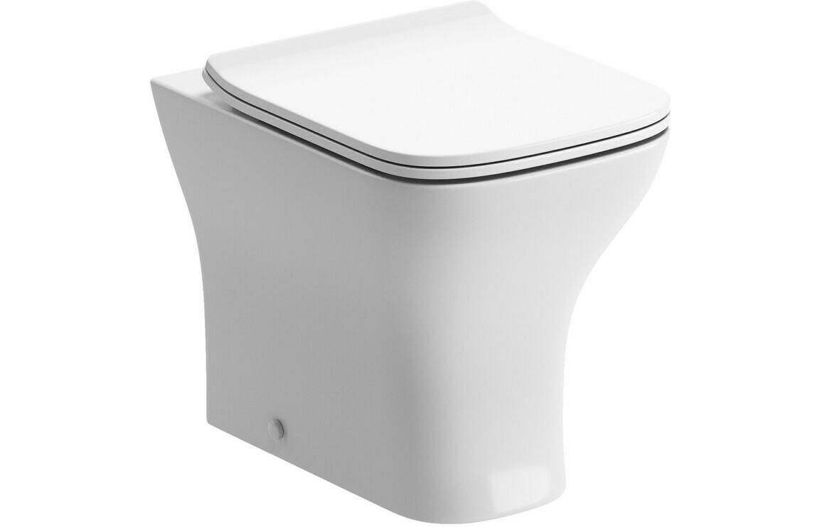 Cedarwood Back To Wall WC & Soft Close Seat