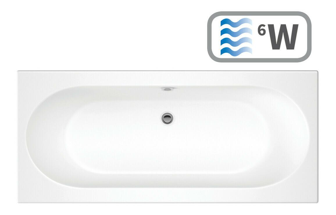 Cascade Double End 1700x700 0TH Bath & Whirlpool System