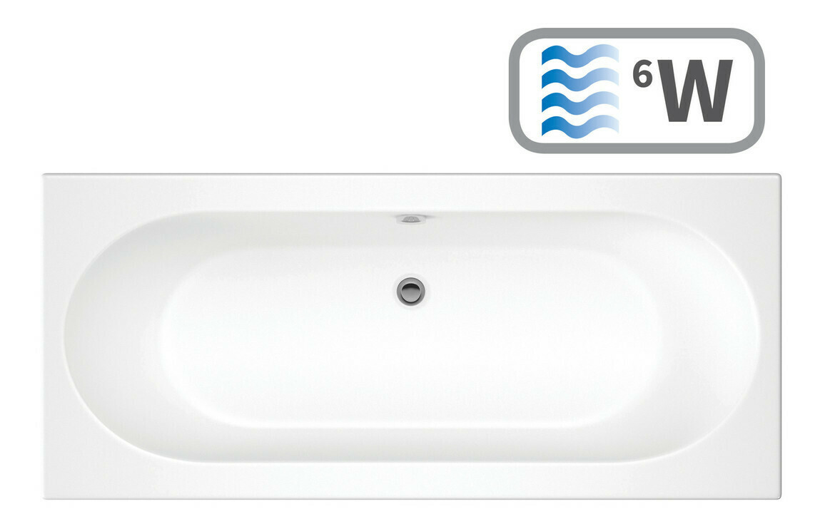 Cascade Double End 1800x800 0TH Bath & Whirlpool System