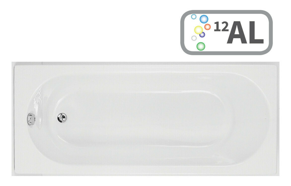 Cascade SUPERCAST Single End 1700x750 0TH Bath & Airspa System w/LED