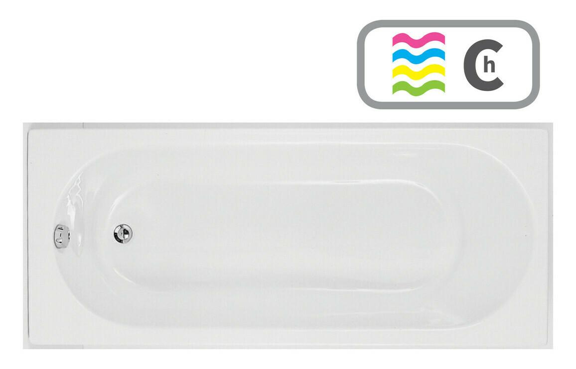 Cascade SUPERCAST Single End 1700x750 0TH Bath & Chromatherapy System