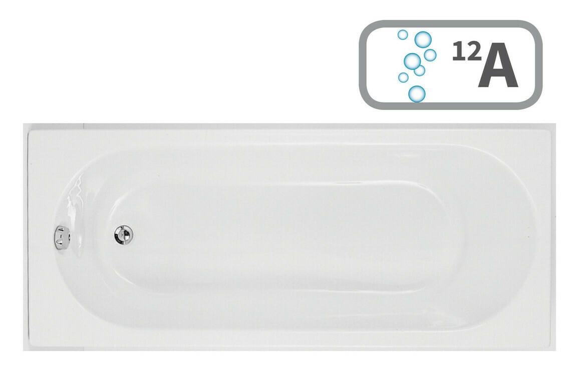 Cascade Single End 1700x750 0TH Bath & Airspa System