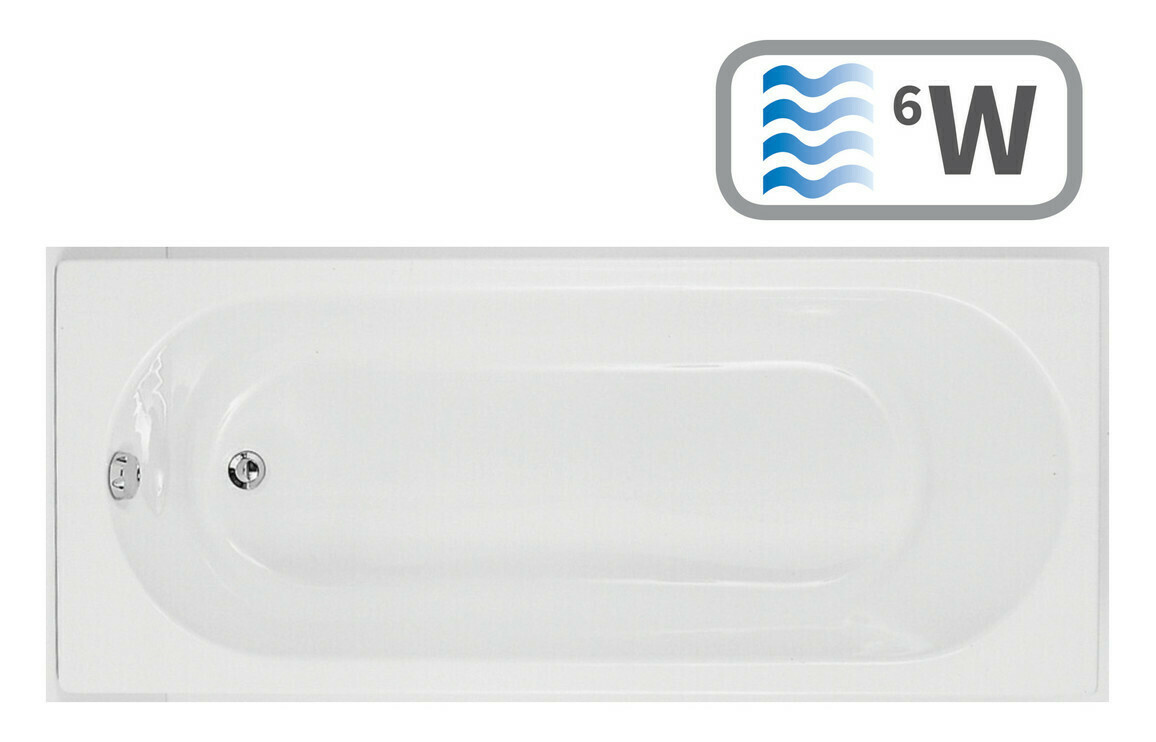 Cascade Single End 1700x750 0TH Bath & Whirlpool System
