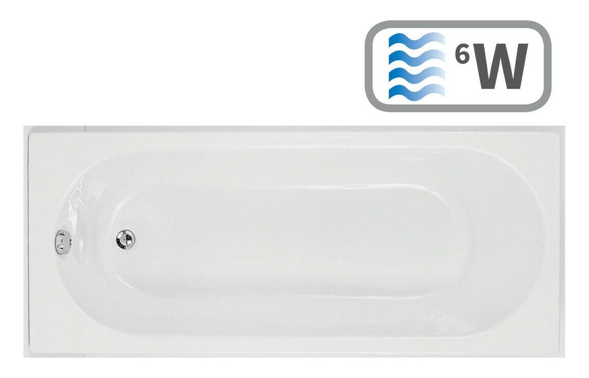 Cascade Single End 1700x800 0TH Bath & Whirlpool System