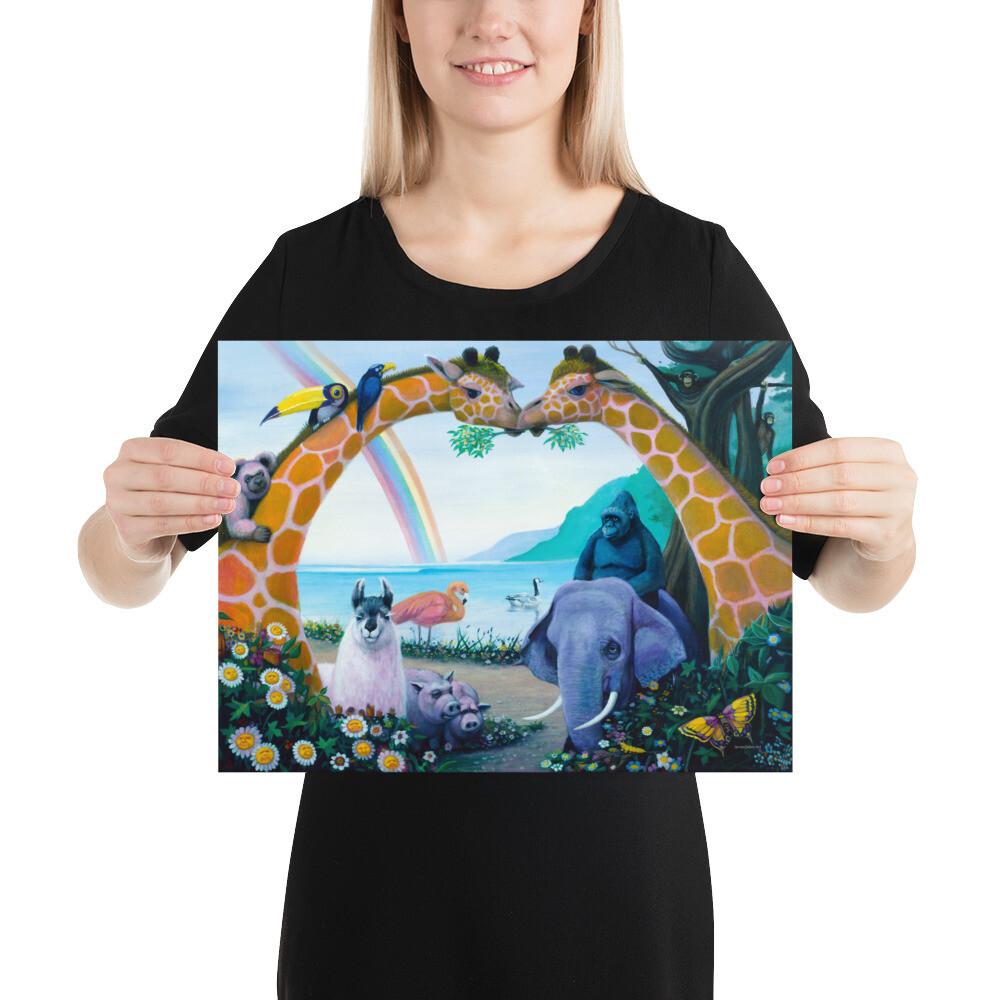 """Animal Heaven"" Print"