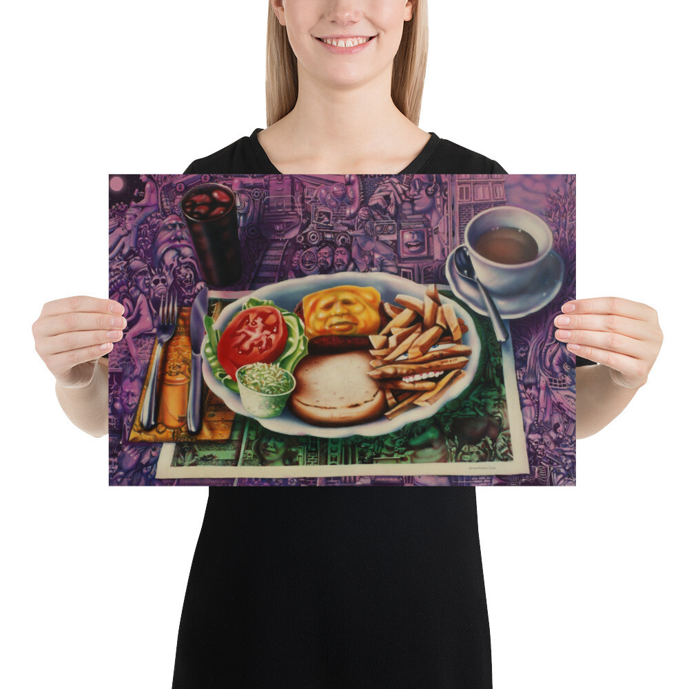 """Lunch"" Print"