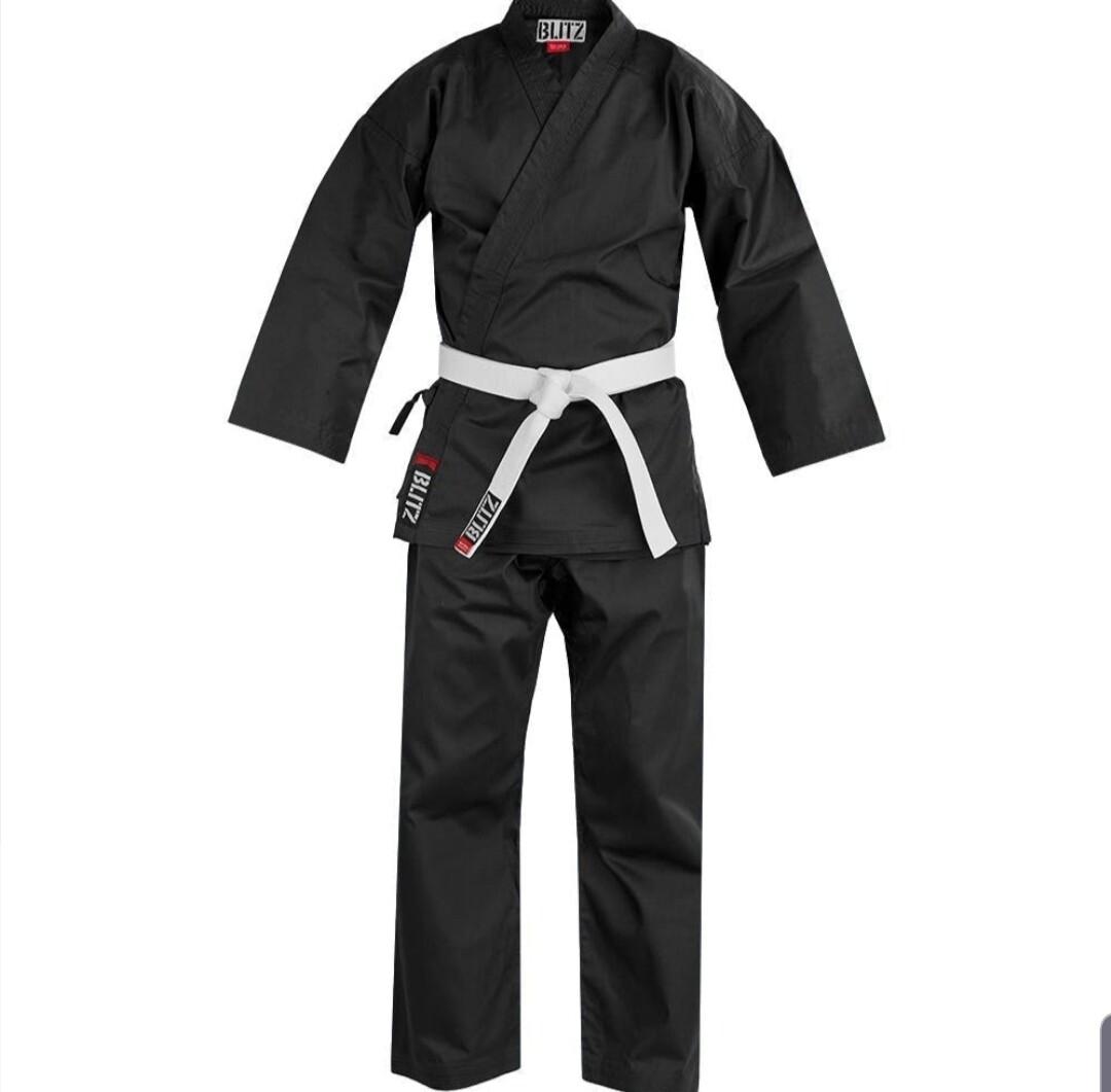 7oz Black Karate Gi (Adult)  ** Instructors Only**