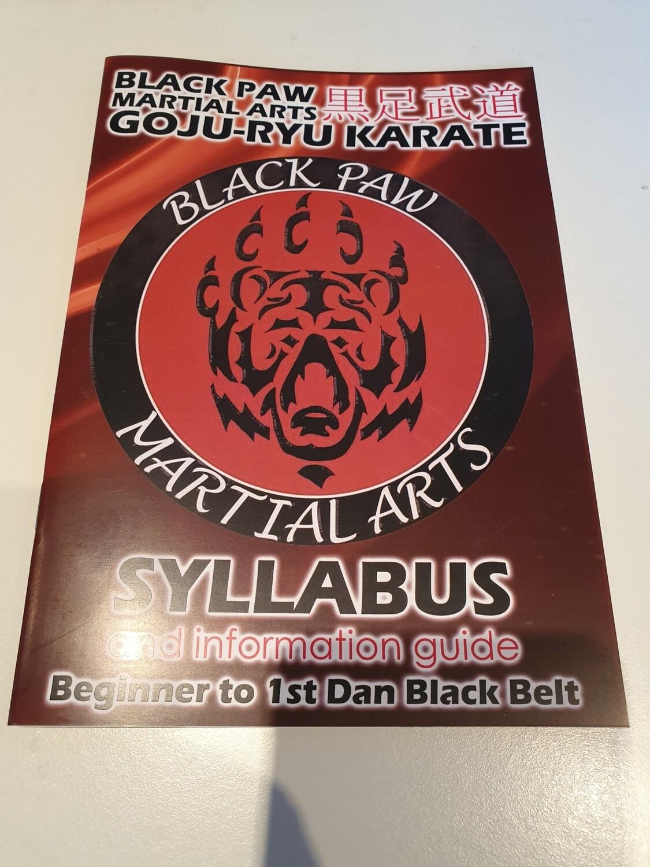 Replacement Syllabus Book