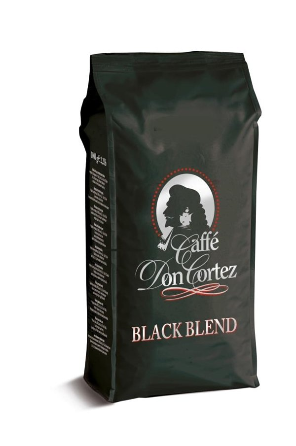 Cararro Don Cortez  Black Blend еспресо во зрно 1 kg.