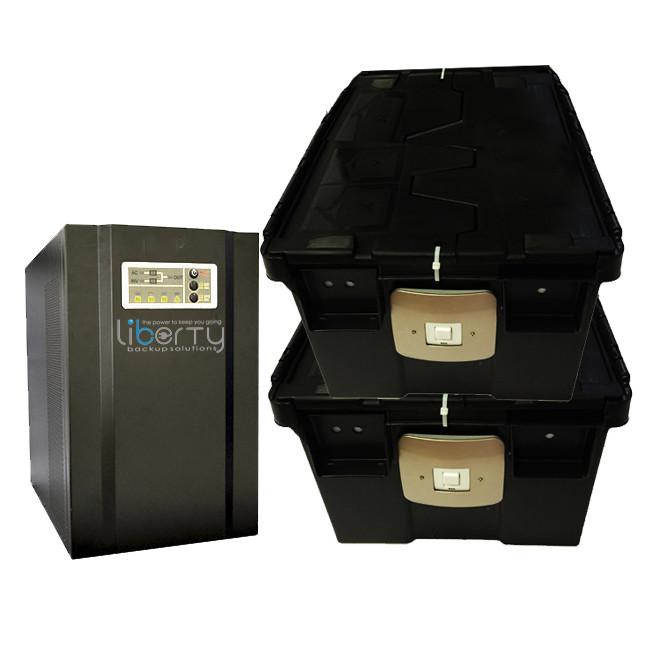 SH Series 4000VA 48v Pure sine wave +4 batteries & 2 battery cabinets