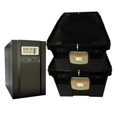 SH Series 4000VA 48v Pure sine wave +8 batteries & 4 battery cabinets