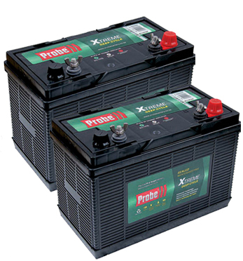 Probe 12v 105 A/Hour Deep Cycle Battery