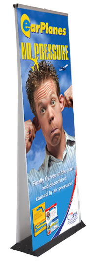 Pull Up Banner Std d/sided