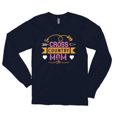 Cross country mom mother Long sleeve t-shirt