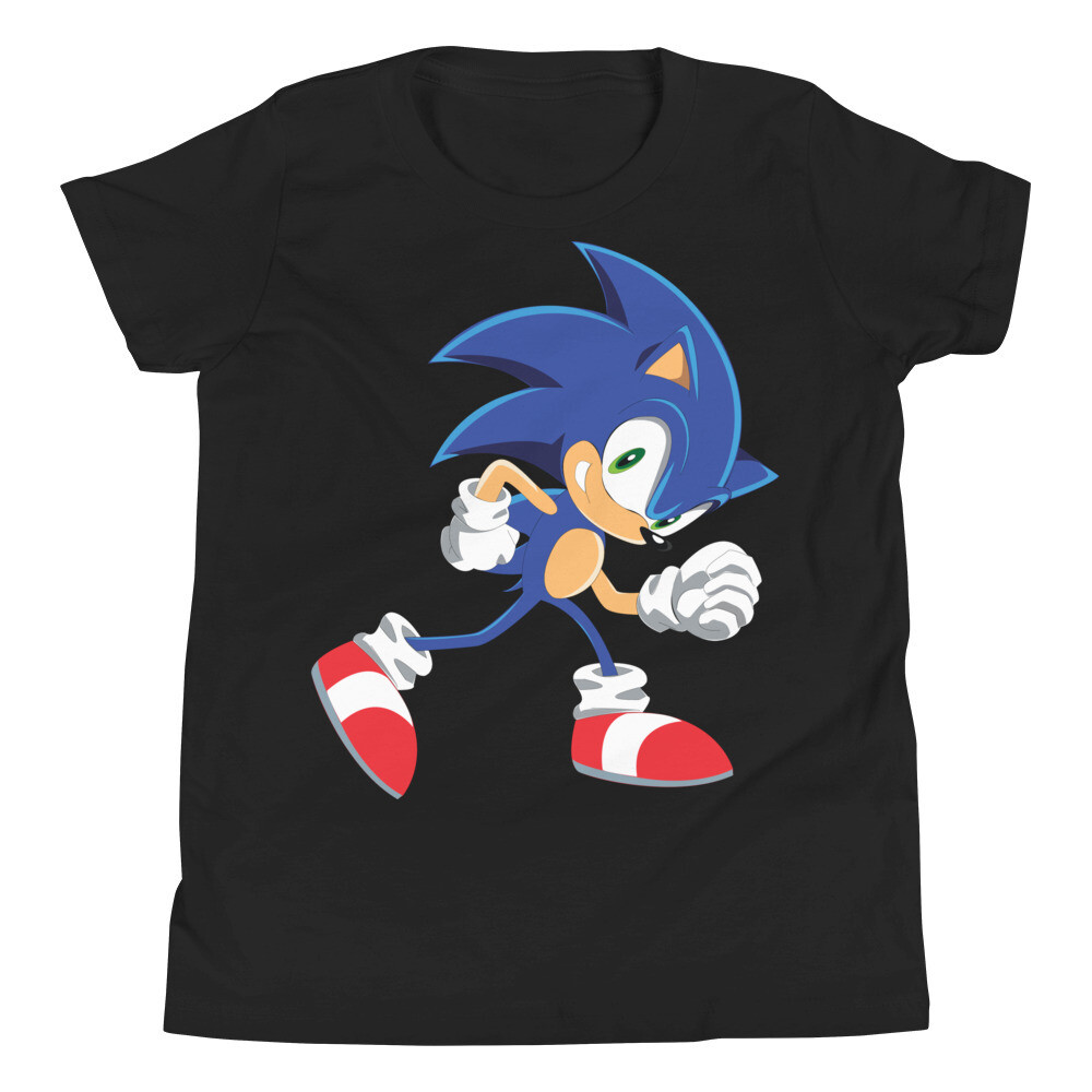 Sonic the hedgehog Youth Short Sleeve T-Shirt for kids