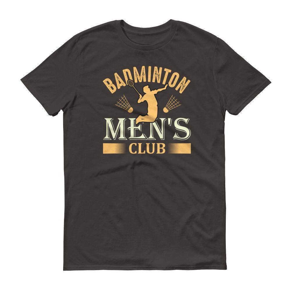 Badminton men's club Short-Sleeve T-Shirt