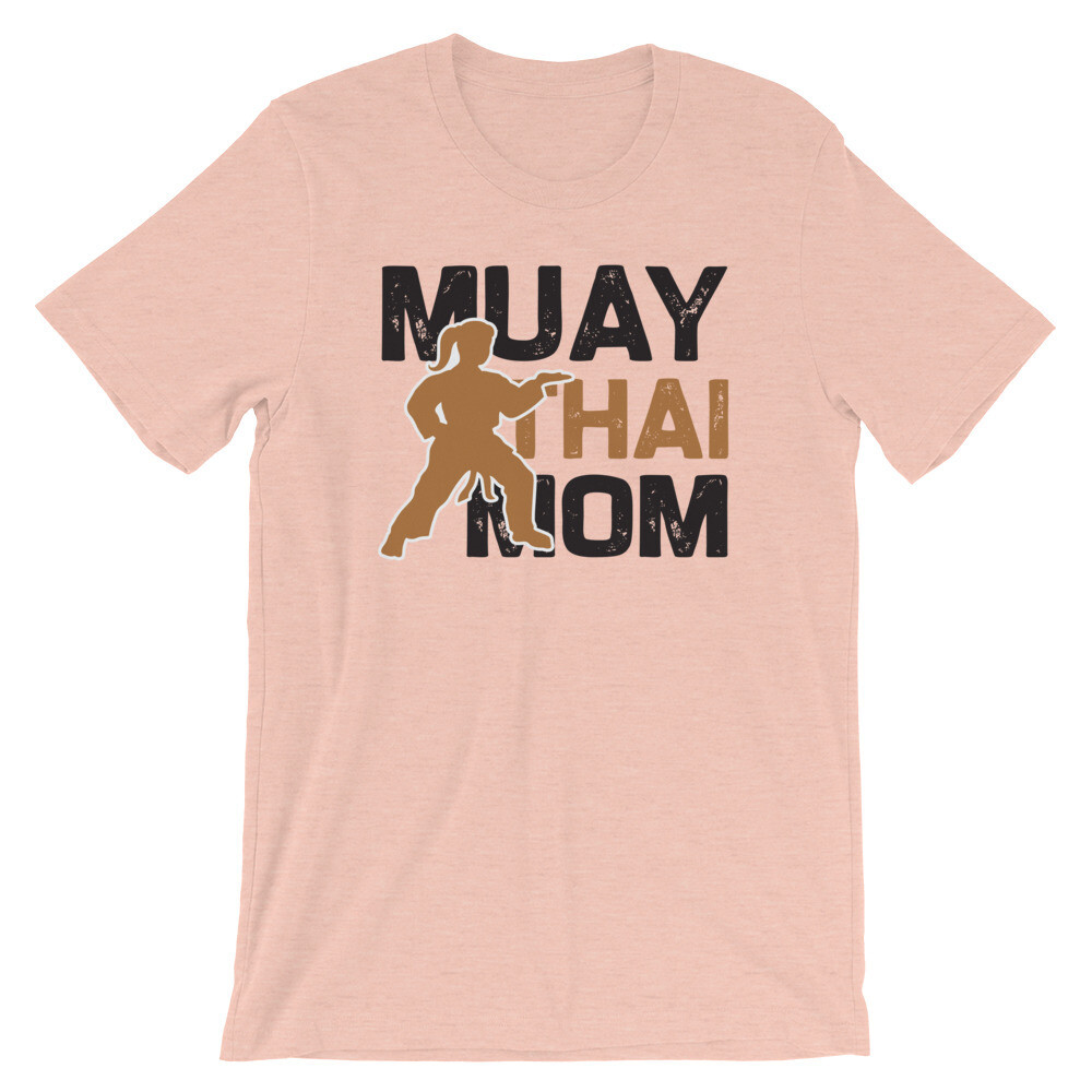 Muay Thai mom Short-Sleeve Unisex T-Shirt