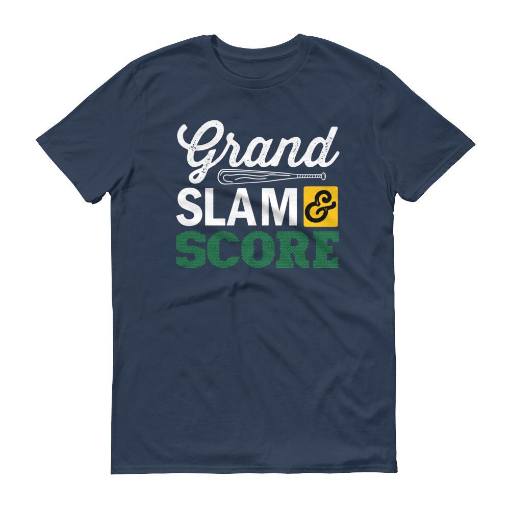 Grandslam and score Short-Sleeve T-Shirt