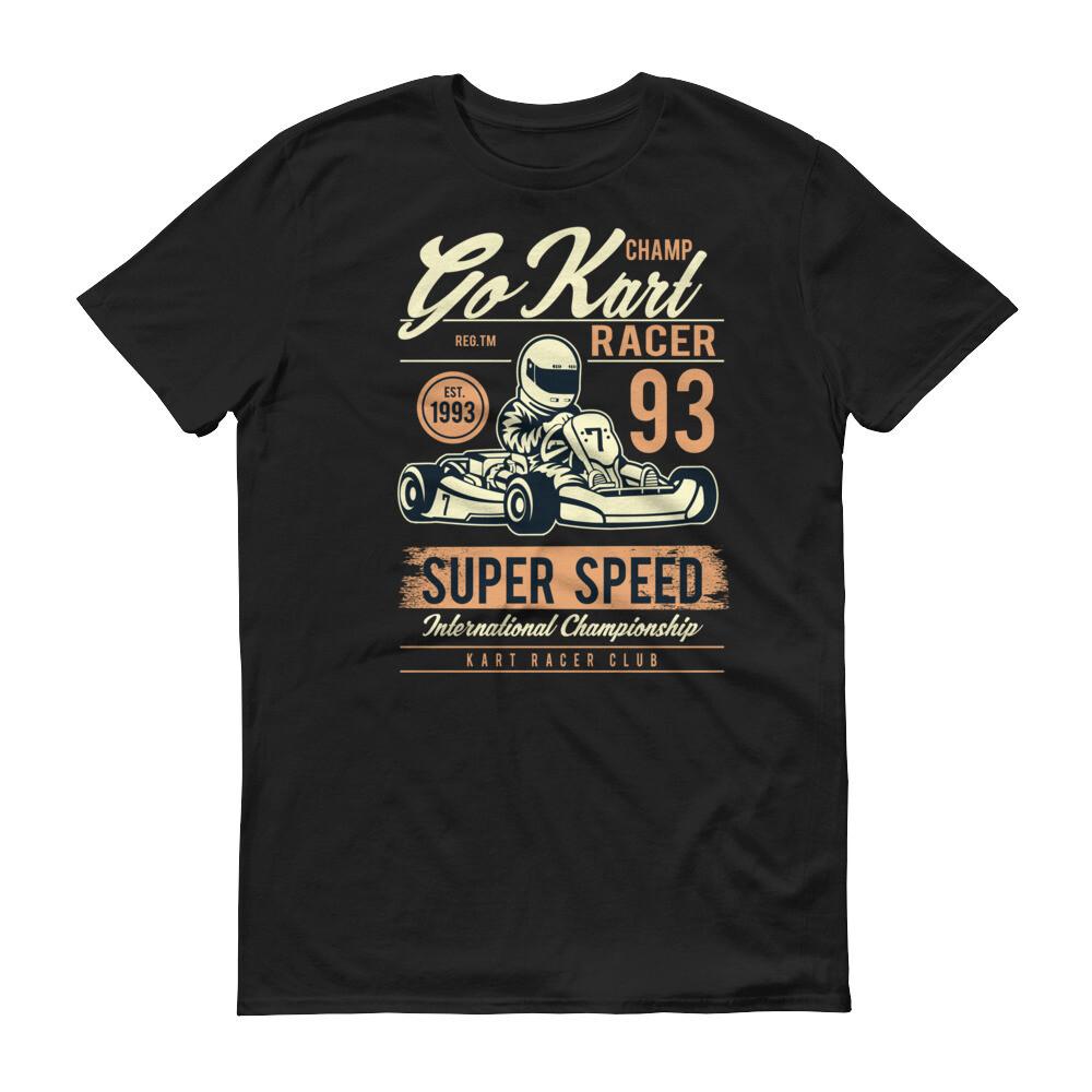 God kart racer super speed international championship Short-Sleeve T-Shirt