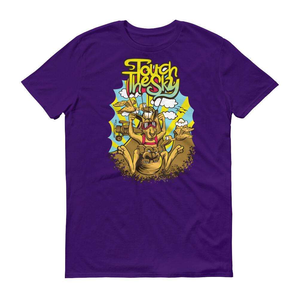 Touch the sky kangaroo cool Short-Sleeve T-Shirt