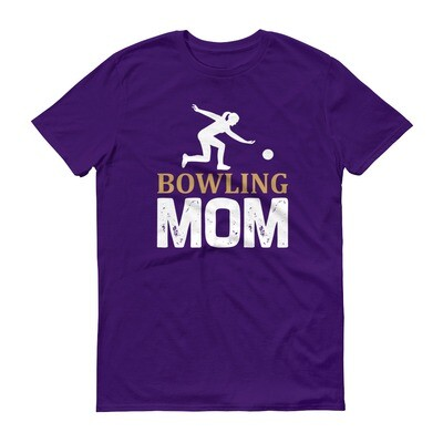 Bowling mom Short -Sleeve T-Shirt