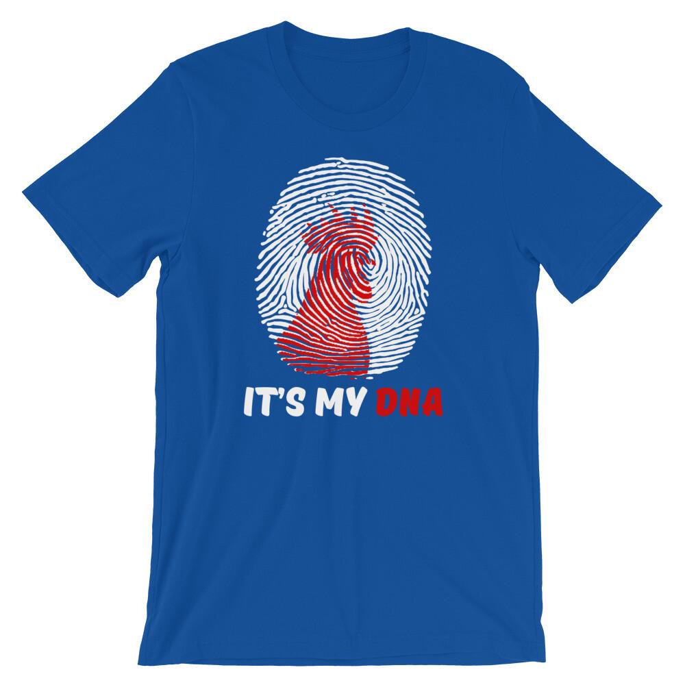 Chicken, it's my dna Short-Sleeve Unisex T-Shirt