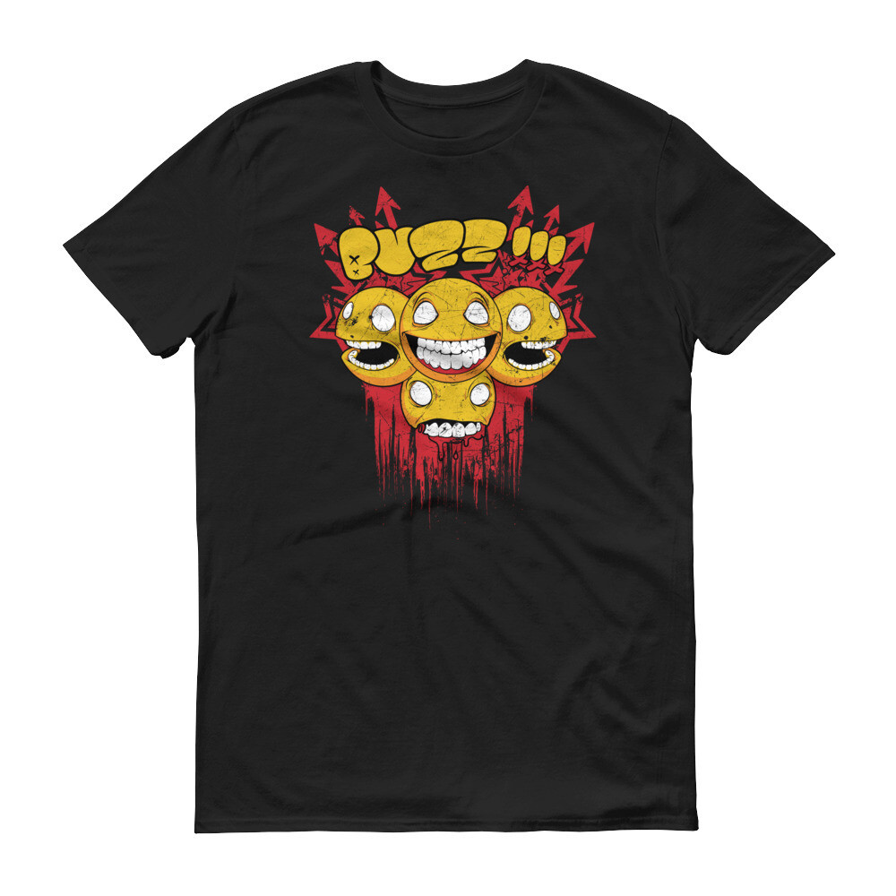 Boo cartoon emoticons monster Short-Sleeve T-Shirt
