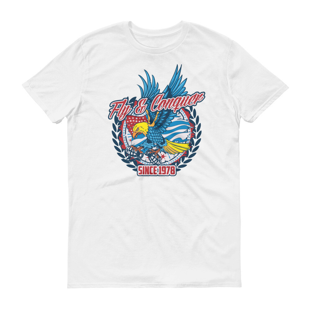 Fly and conquer since 1978 eagles Short-Sleeve T-Shirt