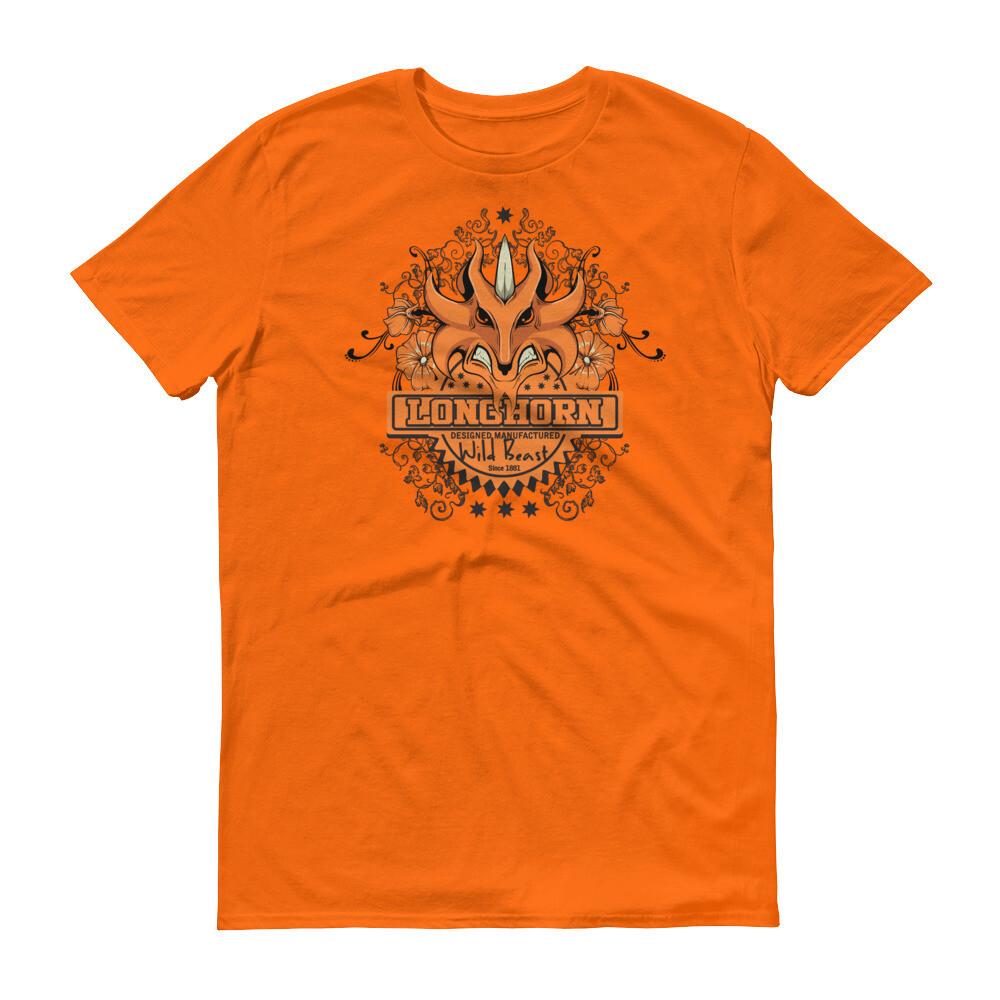 Longhorn wild beast Short-Sleeve T-Shirt