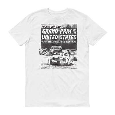 racing car grand prix of the united states Short-Sleeve T-Shirt