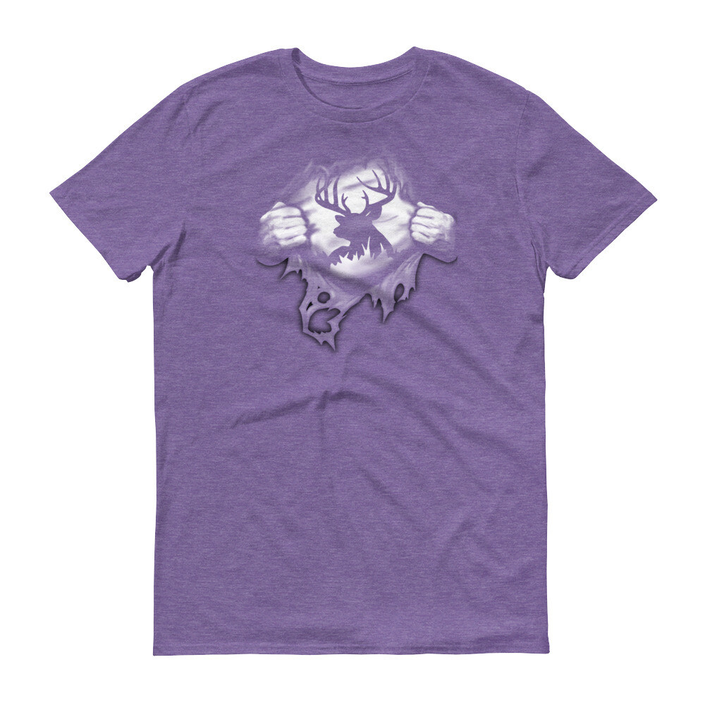 Super hunter reindeer Short-Sleeve T-Shirt