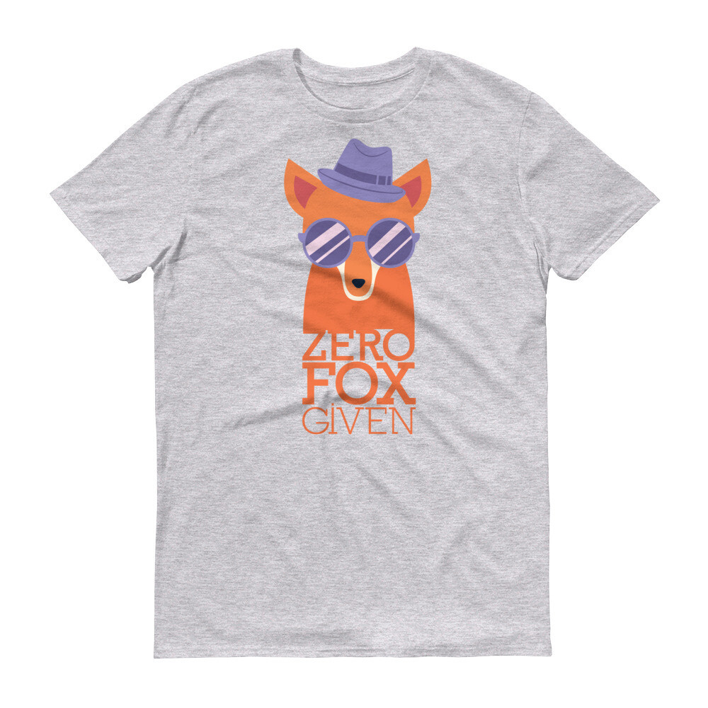 Zero fox given Short-Sleeve T-Shirt