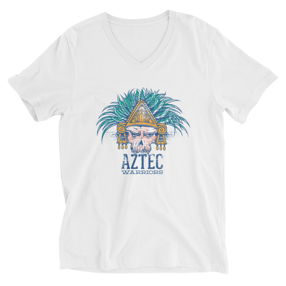 AZTEC warriors Unisex Short Sleeve V-Neck T-Shirt