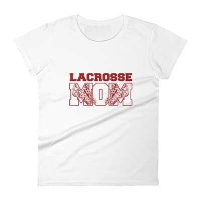 Lacrosse mom Women's short sleeve t-shirt
