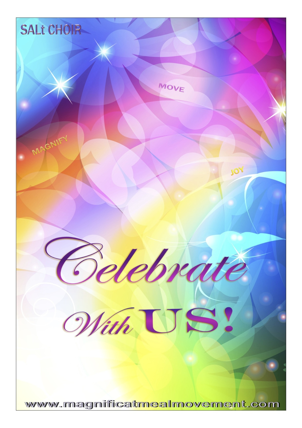 Celebrate With Us - Song Booklet EB CWU