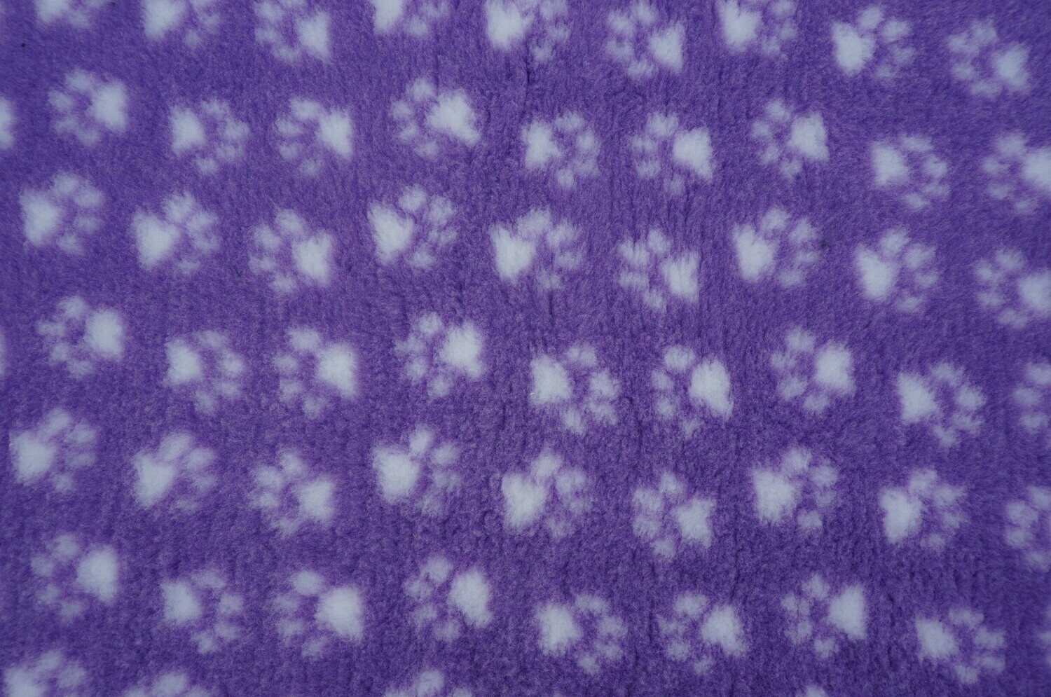 {Single Sheets} : Ultra Premium - Non-Slip Backing : Lilac with White Paws  - Ref : (6278)
