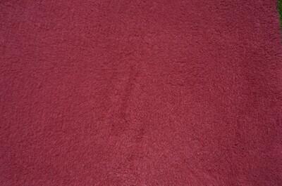 {15 x Metre Roll} : Ultra Premium - Green Backing : Plain Burgundy - Ref : (3244)