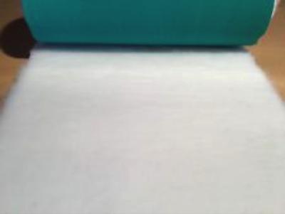 {15 x Metre Roll} : Ultra Premium - Green Backing : Plain White - Ref : (3254)