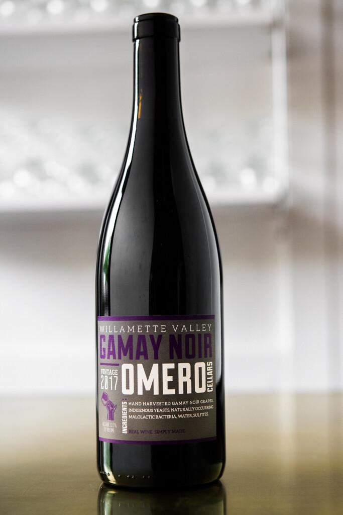 Omero Cellars Gamay Noir Willamette Valley (2017)
