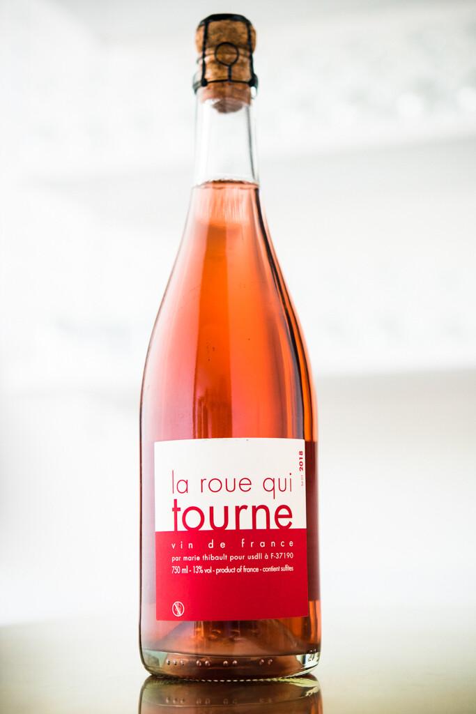 Marie Thibault 'La Roue Qui Tourne' Pet-Nat Rose (2018)