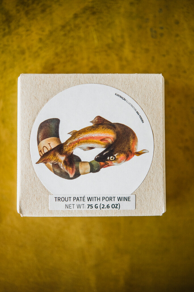 Jose Gourmet Trout Pate with Port Wine