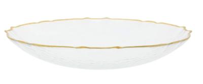 Baroque Glass Medium Bowl